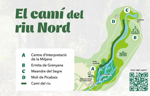 Imatge de la notícia Estrena popular de l'obertura d'un nou pas del Camí del Riu Segre aquest diumenge