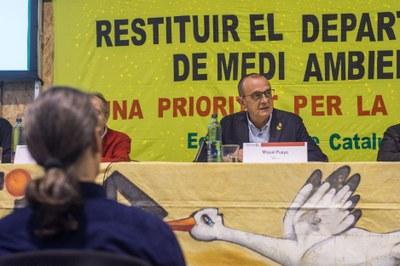 L'alcalde Miquel Pueyo diu que el canvi climàtic ens obliga a plantejar fer una comunitat més forta i humana
