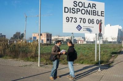 L'EMU treu a licitació una parcel·la residencial lliure a Ciutat Jardí que incorpora facilitats per al pagament