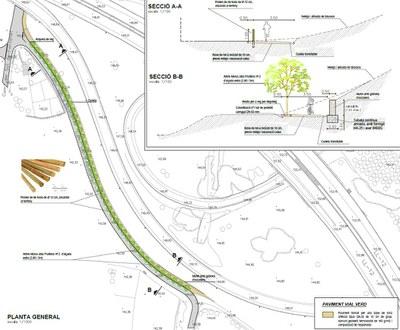 La Paeria adequa el Camí d'Albatàrrec i de Grenyana de l'Horta per potenciar l'ús de bicicletes i vianants