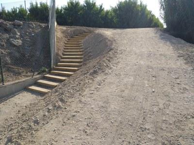 La Paeria enllesteix la primera fase de les obres de recuperació i millora del Camí del Riu