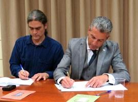 La Paeria i els APIs de Lleida signen un acord de col·laboració per destinar habitatges a lloguer social