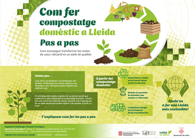 La Paeria impulsa una campanya per promoure el compostatge domèstic