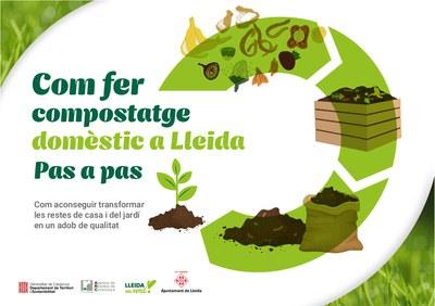 La Paeria posa en marxa una campanya per fomentar el compostatge domèstic entre els lleidatans i lleidatanes