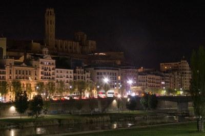 Lleida se suma a L'Hora del Planeta