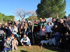 Imatge de la notícia Plantació popular d'arbres al bosquet de Palauet de la Bordeta