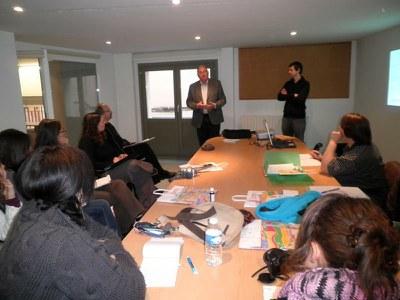 Universitaris de Toulouse visiten l'Ajuntament de Lleida