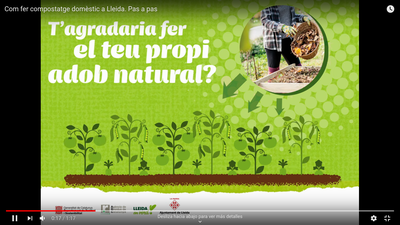 Vídeo compostatge Lleida