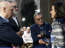Àngel Ros destaca la contribució del Parador del Roser al desenvolupament turístic de Lleida i a l'impuls al Centre Històric