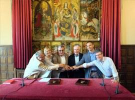Imatge de la notícia Acord de la Paeria amb el FiF Lleida per la construcció de dos nous camps de futbol a Ciutat Jardí