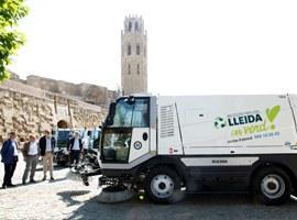 L'Ajuntament de Lleida inverteix 3.433.599,02 euros en la renovació de la flota de vehicles del servei de neteja urbana