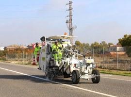L'Ajuntament de Lleida millora la senyalització horitzontal de la N-240a i la N-II
