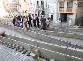 L'Ajuntament de Lleida reurbanitza i millora el carrer Botera del Centre Històric