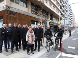 La Paeria finalitza l'eix Nord-Sud del carril bici reforçant la mobilitat alternativa i sostenible