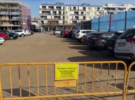 La Paeria inicia les obres d'arranjament del pàrquing del carrer riu Ebre