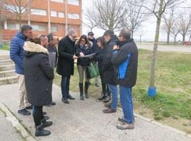 La Paeria inicia les obres de millora del pati del col·legi Magraners