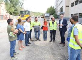 La Paeria inicia les obres de millora del paviment en diversos carrers de la ciutat