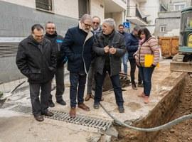 La Paeria reforma el carrer Arboló dels Magraners amb nou clavegueram, pavimentació i plantes arbustives