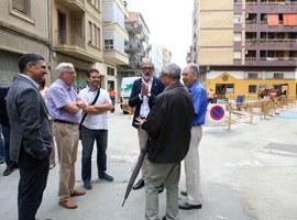 Imatge de la notícia Les obres de millora del barri de Noguerola encaren la seva recta final
