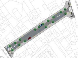 Imatge de la notícia Millora de l'accessibilitat del carrer Comtes d'Urgell entre el carrer Anselm Clavé i el carrer Príncep de Viana