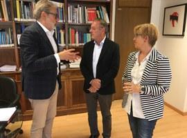 Imatge de la notícia El paer en cap demana al Ministerio de Cultura col·laborar amb el Pla de Muralles de la Ciutat de Lleida