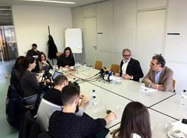 """L'alcalde Larrosa destaca que """"el POUM de Lleida lidera un procés de canvi en la concepció urbanística del país"""""""