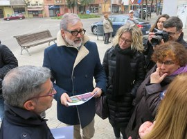 L'alcalde Larrosa remarca l'impuls que el Pla d'Ordenació Urbanística Municipal dona a Cappont