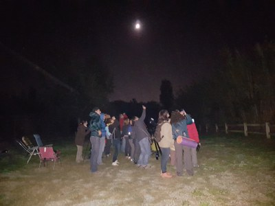 Imatge del event Celebració. La nit dels Museus: Astronomia al Museu del Clima i la Ciència