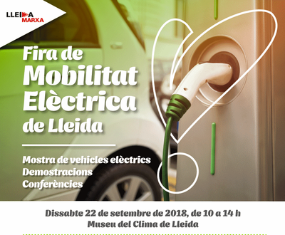 Imatge del event Fira de Mobilitat elèctrica de Lleida - Dissabte, 22 de setembre de 2018
