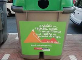 Campanya informativa per conscienciar els lleidatans sobre la necessitat de reciclar el vidre