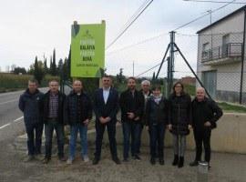 La Paeria inicia la col·locació dels cartells per unificar la senyalització de les partides de l'Horta de Lleida