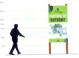 La Paeria iniciarà els pròxims dies la senyalització dels noms de les partides de l'Horta als camins principals